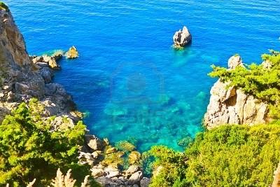 14577414-sea-baia-paleokastritsa-corfu-grecia